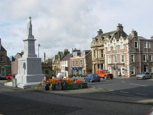 Selkirk, The Town Square, Scottish Borders © Gordon Elliott