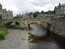 Hawick, The old North Bridge, Roxburghshire © James Denham